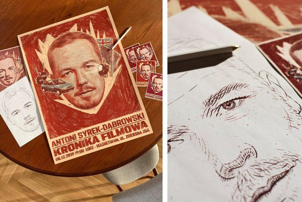 Bartosz Kosowski - ilustrator, którego docenił świat - Antoni Syrek-Dąbrowski