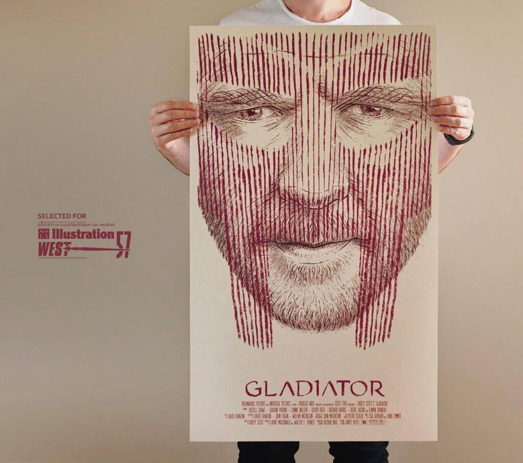 Bartosz Kosowski - ilustrator, którego docenił świat - Gladiator