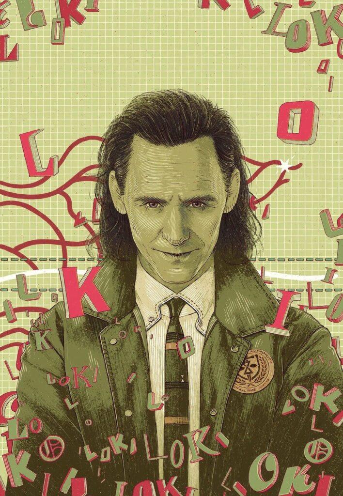 Bartosz Kosowski - ilustrator, którego docenił świat - Loki - Tom Hiddleston