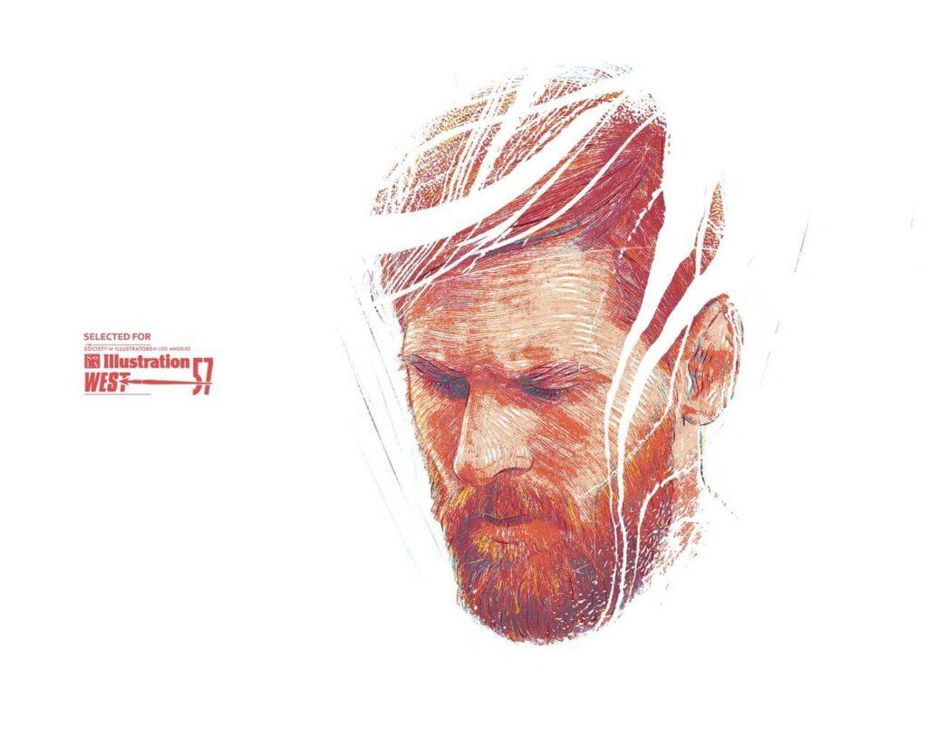 Bartosz Kosowski - ilustrator, którego docenił świat - Messi