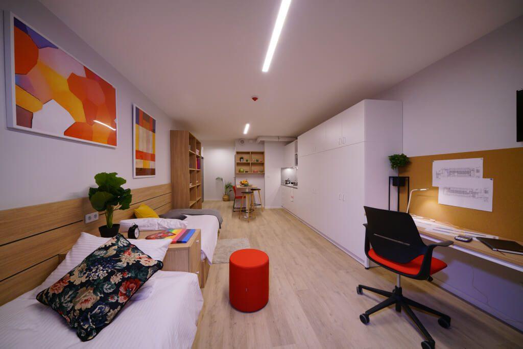 2-osobowe mieszkanie typu STUDIO