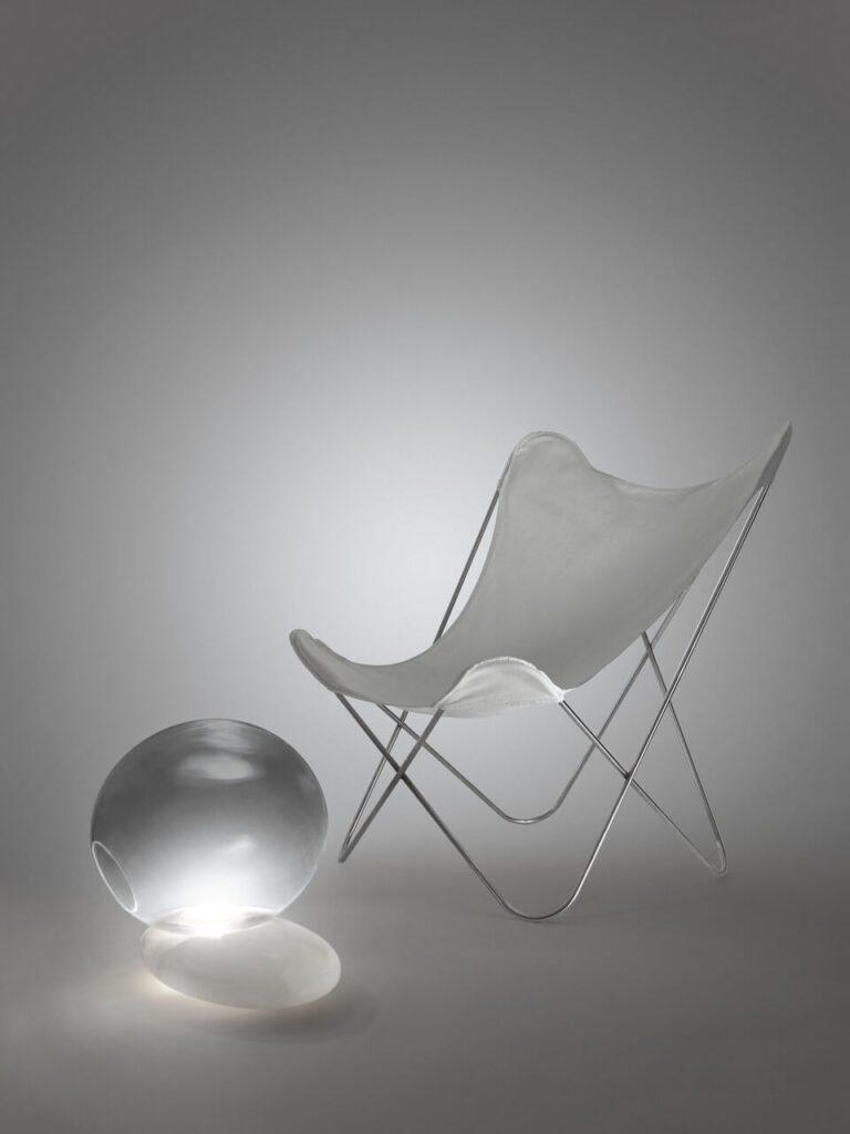 Kolekcja Aurora od Kreoo - onyks, szkło Murano i światło - Lampa Litia