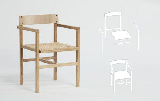 Krzesło JM projektu Szymona Hanczara