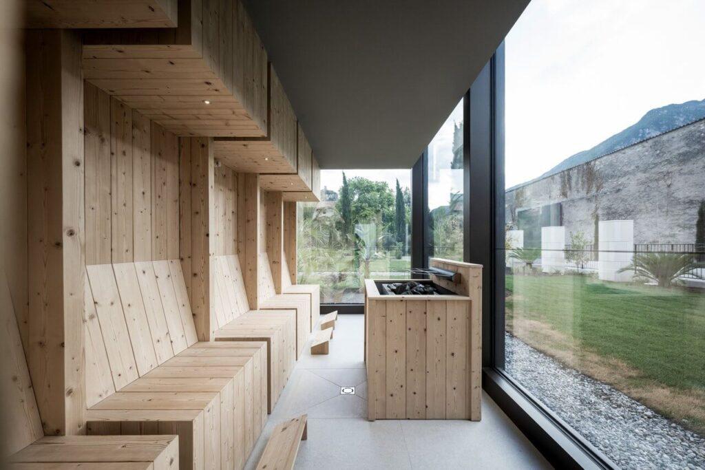 Hotel Monastero Arx Vivendi - projekt Studio noa - Alex Filz