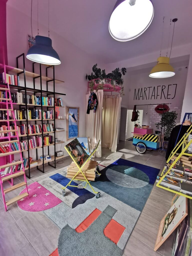 Najlepiej zaprojektowane wnętrze komercyjne w Gdyni 2021 - Marta Frej