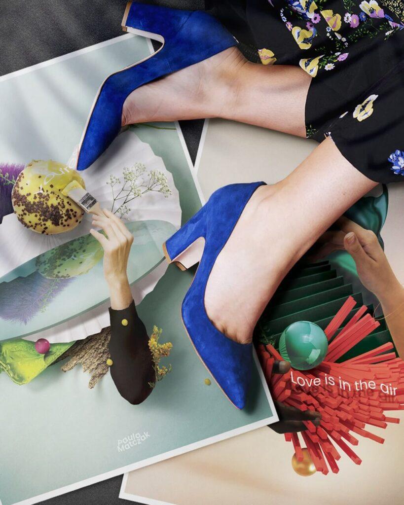 Paula Matczak - grafika Legs