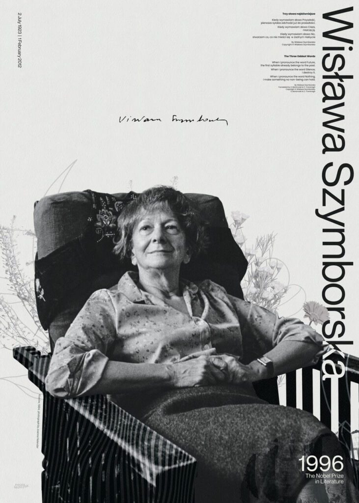 Paula Matczak - Grafika Wisława Szymborska