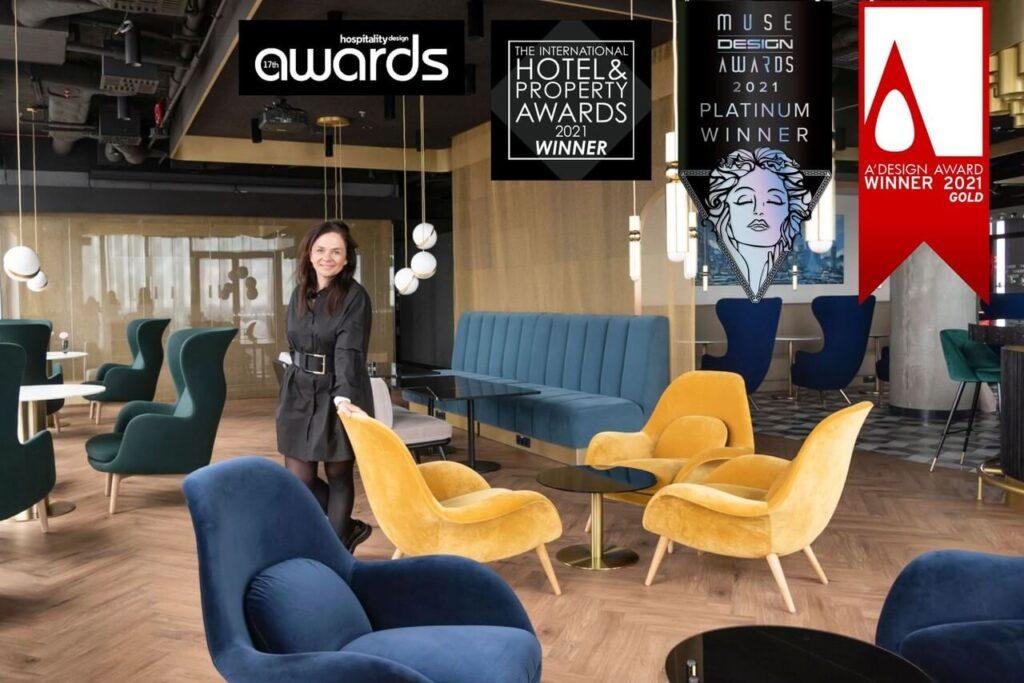Prestiżowe nagrody dla Tremend za Crowne Plaza Warsaw – The HUB - foto Marta Kieliszczyk