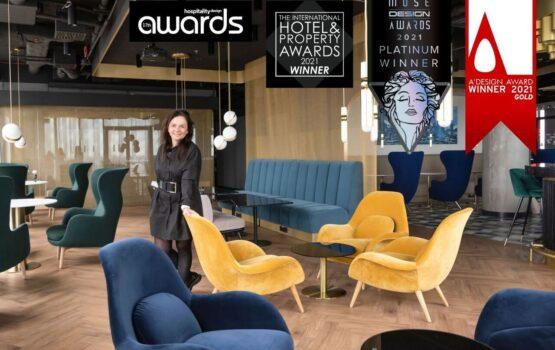Prestiżowe nagrody dla Tremend za Crowne Plaza Warsaw – The HUB