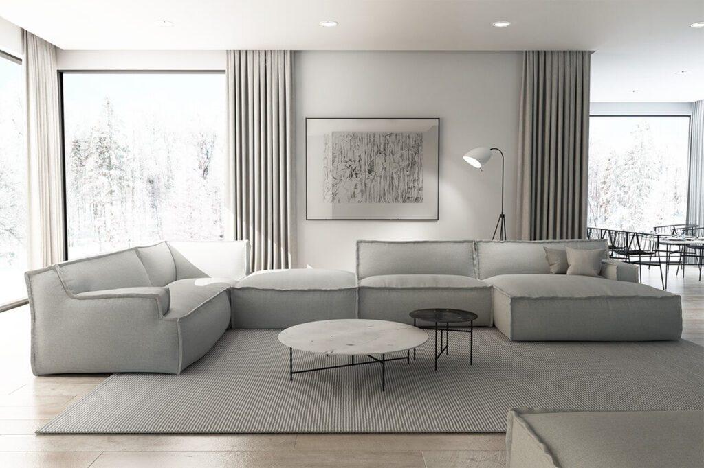 Adriana Furniture - Komplet Le Noir