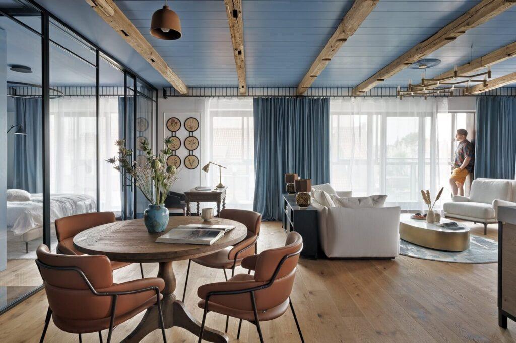 Sikora Wnętrza Architektura i apartament w kompleksie Deo Plaza - foto Tom Kurek