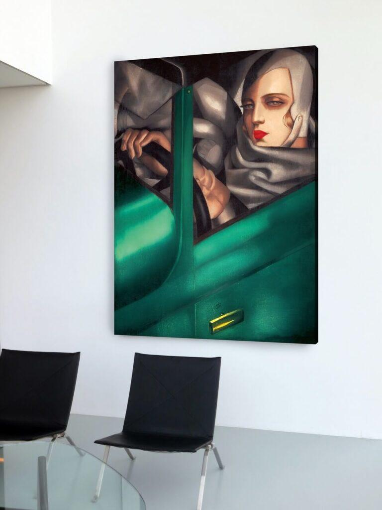 Tamara Łempicka - królowa art deco i królowa życia - Drukarnia BOSZart