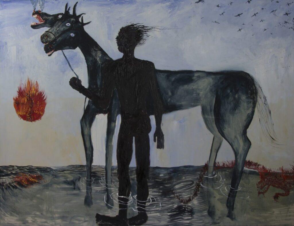 HOS - Koń bojący się wiatru