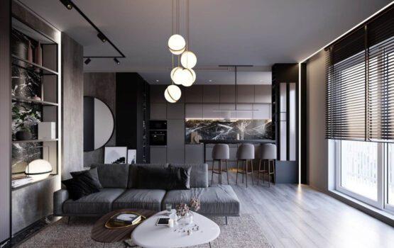 60-metrowe mieszkanie projektu Anny Ejsmont