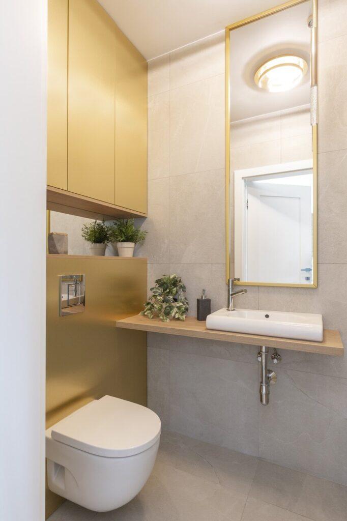 95-metrowe mieszkanie na Osiedlu Wilno na Targówku - projekt Decoroom - zdjęcia Pion Poziom