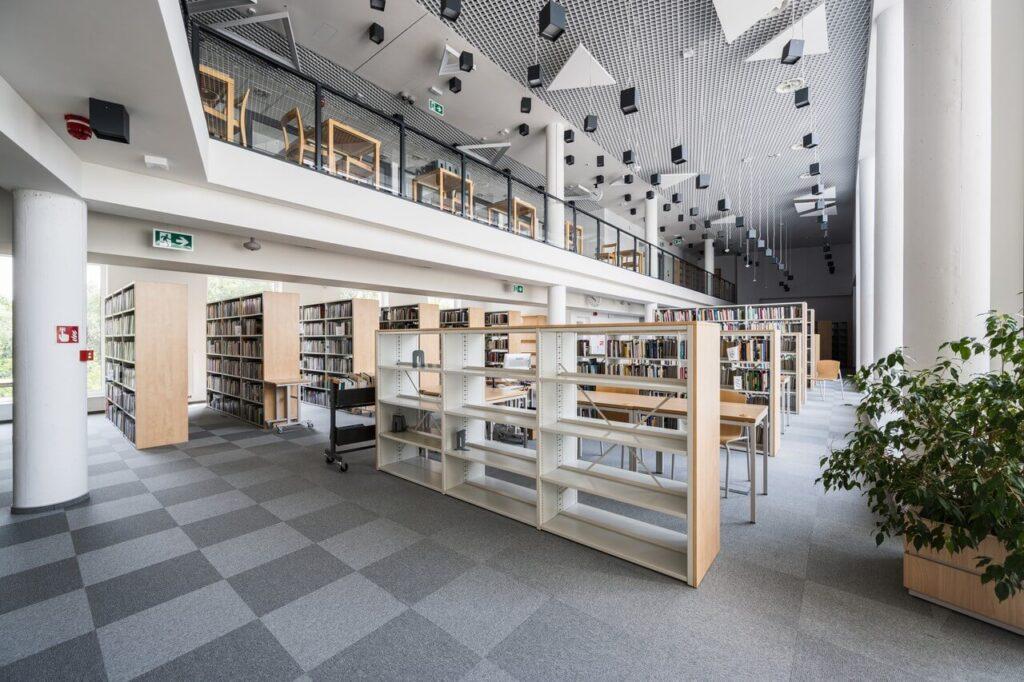Biblioteka Uniwersytecka w Białymstoku od DEMIURG Project - foto Maciej Lulko