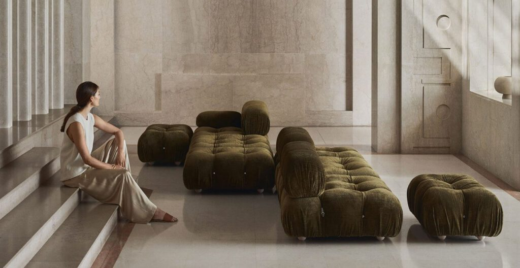 Meble od B&B Italia – esencja włoskiego designu - Sofa Camaleonda