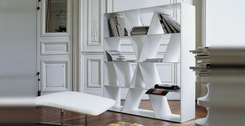 Meble od B&B Italia – esencja włoskiego designu - Regał Shelf X