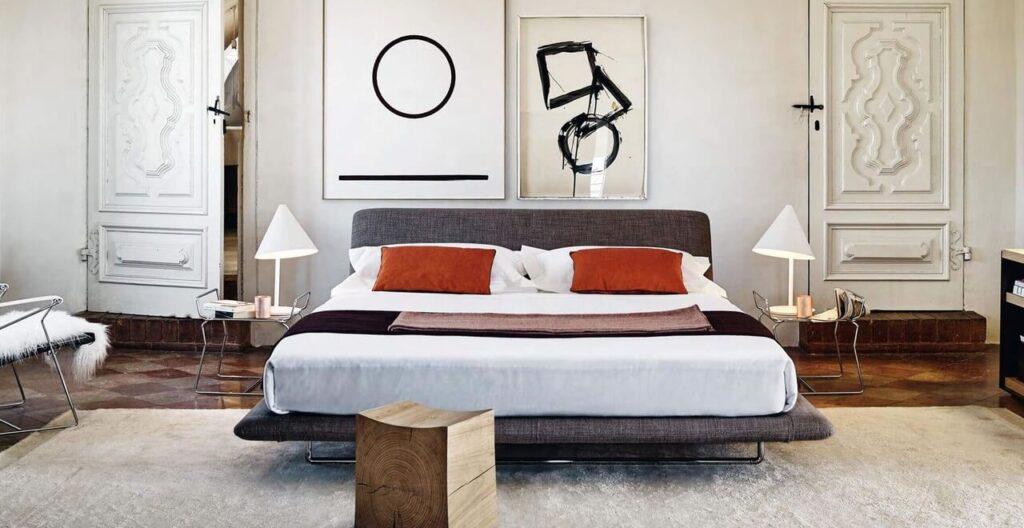 Meble od B&B Italia – esencja włoskiego designu - Łóżko Siena