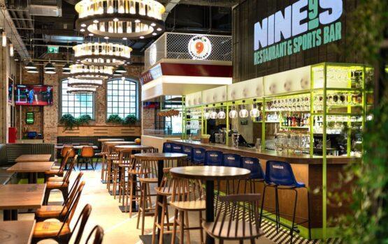 NINE's Restaurant & Sports Bar – restauracja Roberta Lewandowskiego