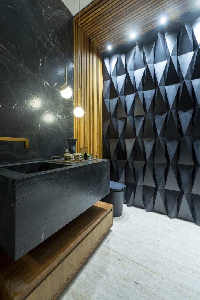 Negresco – magnetyczny urok matowej czerni w projekcie Priscilli Mendes