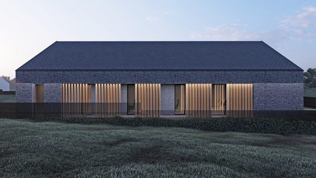 Twin Barn, czyli nowoczesna stodoła od _slab_